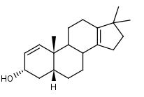 17_17-Dimethyl-18-nor-5__-androsta-1_13-dien-3__-ol - Product number:120305