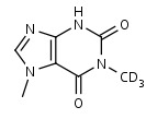 1_7-Dimethylxanthine-d3 - Product number:140119