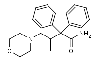 2_2-Diphenyl-3-methyl-4-morpholinobutanamide - Product number:120021
