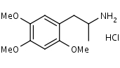 2_4_5-Trimethoxyamphetamine_HCl - Product number:110277