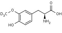 3-_Methoxy-d3_-tyrosine - Product number:130196