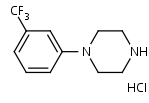 3-_Trifluoromethyl_phenylpiperazine_HCl - Product number:110276