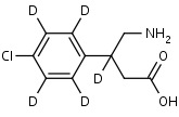 Baclofen-d5 - Product number:130085