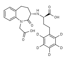 Benazeprilat-d5 - Product number:140104