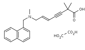 Carboxyterbinafine_Oxalate - Product number:120007