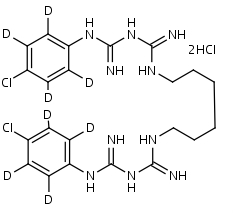 Chlorhexidine-d8_Dihydrochloride - Product number:130083