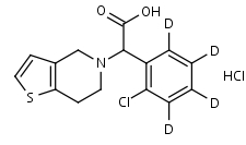 Clopidogrel_Acid-d4_HCl - Product number:140111
