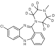 Clozapine-d8 - Product number:130011