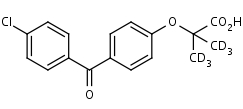 Fenofibric_Acid-d6 - Product number:140122