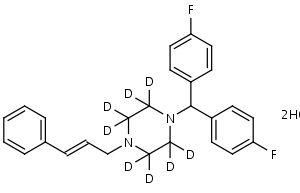 Flunarizine-d8_Dihydrochloride - Product number:130312