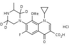 Gatifloxacin-d4_HCl - Product number:130124