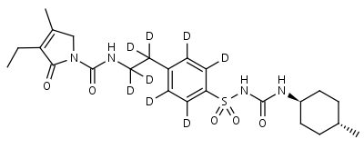 Glimepiride-d8 - Product number:130126