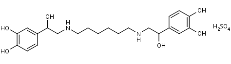 Hexoprenaline_Sulfate - Product number:110320