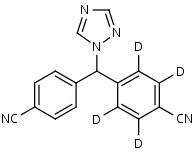 Letrozole-d4 - Product number:130097