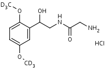 Midodrine-d6_HCl - Product number:130334