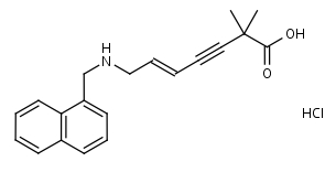 N-Desmethylcarboxyterbinafine_HCl - Product number:120013