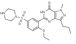 N-Desmethylsildenafil - Product number:120017