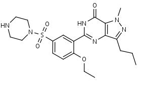 N-Desmethylsildenafil - Product number:120017