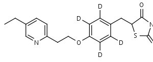 Pioglitazone-d4 - Product number:130145