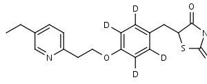 Pioglitazone-d4 - Product number:130145