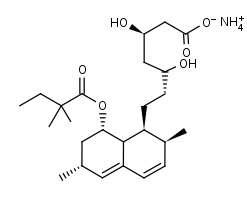 Simvastatin_Acid_Ammonium_Salt - Product number:120040