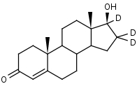 Testosterone-16_16_17-d3 - Product number:130043