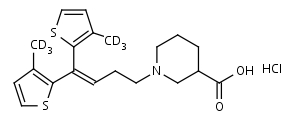 Tiagabine-d6_HCl - Product number:130349