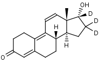 17__-Trenbolone-16_16_17-d3 - Product number:140512