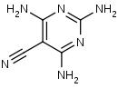 2_4_6-Triamino-5-pyrimidinecarbonitrile - Product number:120514