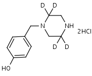 4-Hydroxybenzylpiperazine-d4_Dihydrochloride - Product number:140515