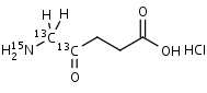 5-Aminolevulinic_Acid-13C2_15N_HCl - Product number:130516