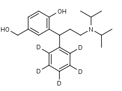 5-Hydroxymethyltolterodine-d5 - Product number:140519