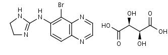 Brimonidine____-Tartrate - Product number:110105
