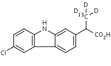 Carprofen-13C_d3 - Product number:130539