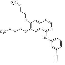 Erlotinib-d6 - Product number:130551