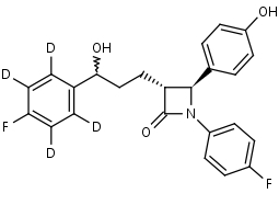 Ezetimibe-d4 - Product number:130555