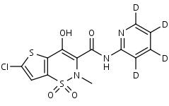 Lornoxicam-d4 - Product number:130569