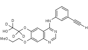 O-Desmethylerlotinib-d4 - Product number:140510