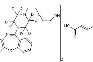 Quetiapine-d8_Hemifumarate - Product number:130582