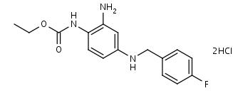Retigabine_Dihydrochloride - Product number:110585