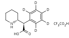 _R_R_-Ritalinic_Acid-d5_TFA_Salt - Product number:140502