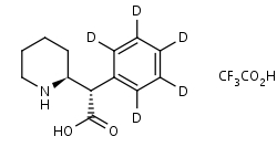 _S_S_-Ritalinic_Acid-d5_TFA_Salt - Product number:140504