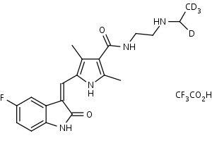 N-Desethylsunitinib-d4_TFA_Salt - Product number:140609