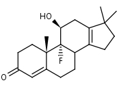 9__-Fluoro-18-nor-17_17-dimethylandrosta-4_13-dien-11__-ol-3-one - Product number:120616