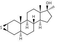 2___3__-Epithio-17__-methyl-5__-androstan-17__-ol - Product number:110623