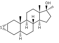2___3__-Epithio-17__-methyl-5__-androstan-17__-ol - Product number:110622