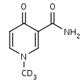 N-Methyl-d3-4-pyridone-3-carboxamide - Product number:140625