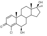 6__-Hydroxy-4-chlorodehydromethyltestosterone - Product number:120634