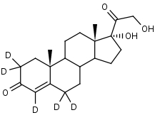 11-Deoxycortisol-2_2_4_6_6-d5 - Product number:140641