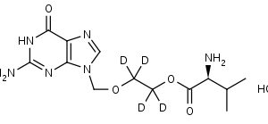 Valacyclovir-d4_HCl - Product number:130644